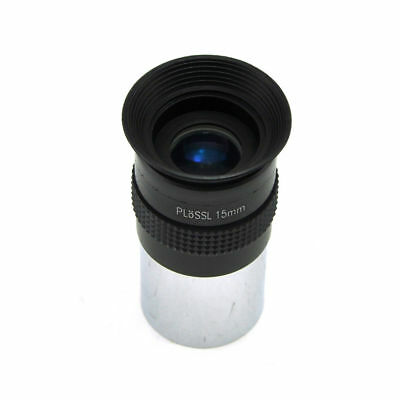 Visionking 1.25 inch 31.7mm PLOSSL 15mm Multicoated Eyepiece Lens for Astronomy