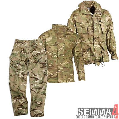 New! Genuine MoD British Military & Cadet MTP PCS Smocks, Shirts, Trousers