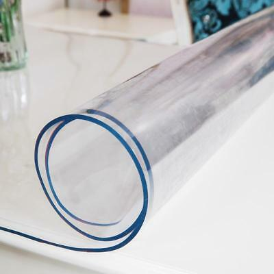 Transparent Tablecloth PVC Plastic Soft Glass Waterproof Thermal Conductivity