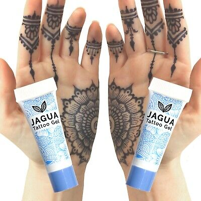 Jagua Black Temporary Tattoos, No Black Henna, Just Beautiful Natural Tattoos tb