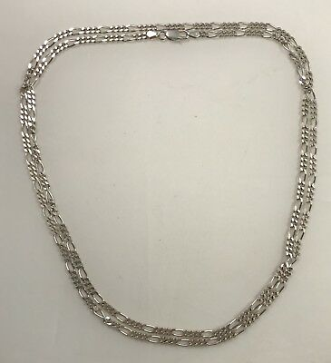 """29"""" Sterling Silver Chain, classic and beautiul 20.4 grams not scrap"""