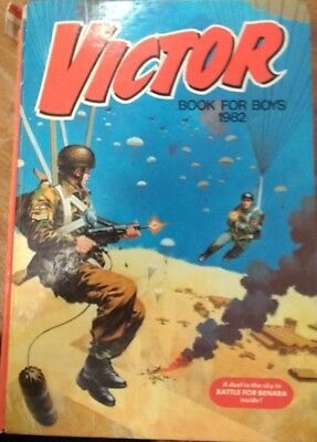 Victor Annual 1982 Vintage Action/Adventure Hardback