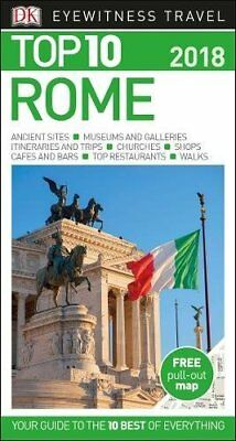 Top 10 Rome: 2018 (DK Eyewitness Top 10 Travel Guide), DK, New Book