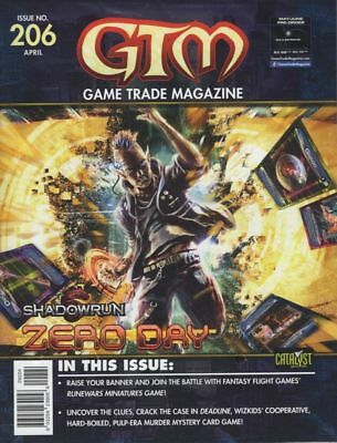 Game Trade Magazine Issue 206 - Gtm - New & Sealed With Promo Cards