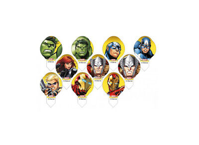 Mini Cialde In Ostia Decoshape Avengers Assemble 30 Pz Assortiti 41043 Cupcake
