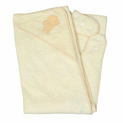 Clevamama Splash and Wrap Baby Bath Towel Hood Cream Other