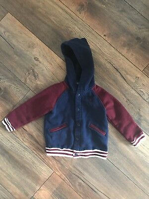 raulph lauren polo Sweatshirt With Snaps And Hoodie 12 Months