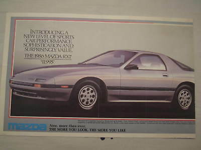 !986 and 1987 Mazda Full Line Catalogues