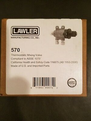 Lawler 570 Thermostatic Mixing Valve 3/8'' 008682001