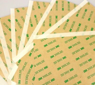3M 9495LE 120 x 100mm Clear Sheet Double Sided Adhesive Tape 4 Phone LCD Repair