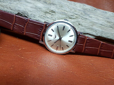 Vintage Longines Silver Dial Manual Wind Man's Watch