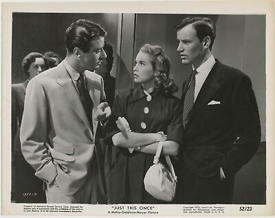 JUST THIS ONCE 1952 #31 Peter Lawford, Janet Leigh, Richard Anderson MGM ORIG