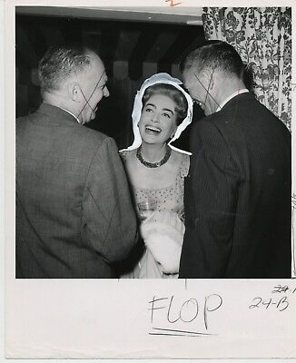 """Joan Crawford"" 1961? GLOBE PHOTO"