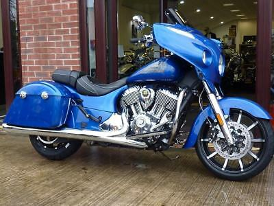 Indian Chieftain Limited 2018 Model Brilliant Blue