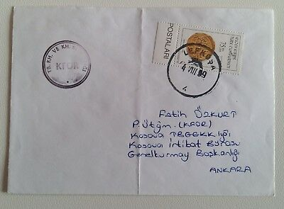 1999 TURKISH ARMY Cover+Black Boxed KFOR-L636