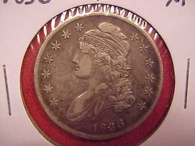 1836 Capped Bust Half Dollar - Xf - See Pics! - (X1873)
