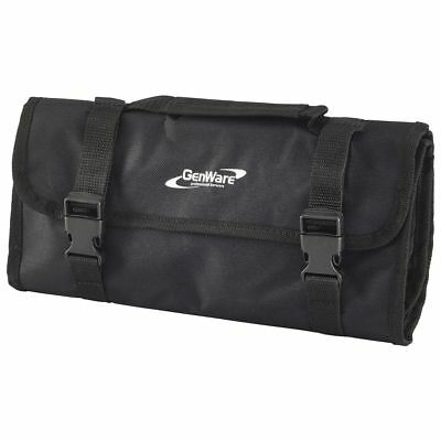 Cocktail Bar Kit Bag, synthetic fabric, black