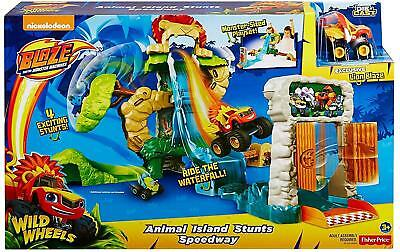 Fisher Price Blaze Monster Machines Animal Island Stunt Speedway 3+ Truck Car