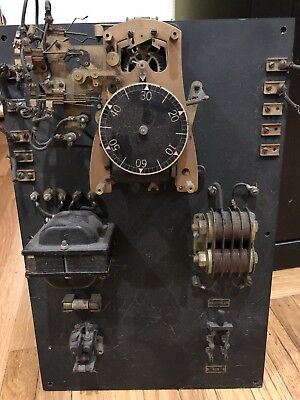 Antique Industrial Time Keeper world clock