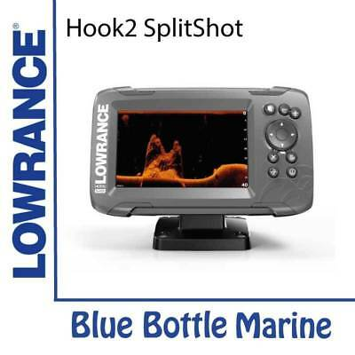 NEW Lowrance Hook2 5x  GPS SplitShot 2 in 1 Sonar from Blue Bottle Marine