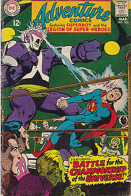 Adventure Comics #366 Fine+ To F/vf
