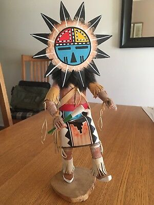Sun Kachina, Signed