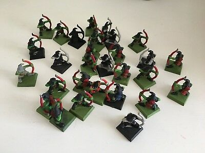 29 Goblins With Bows ~ Fantasy Figures / Miniatures