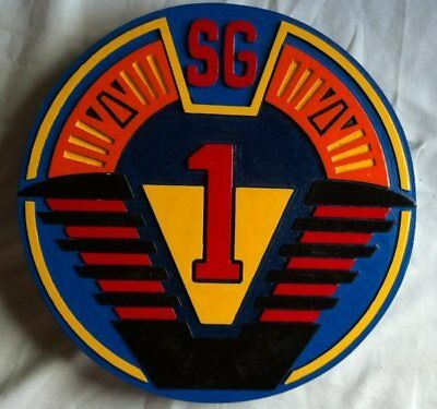 Stargate SG1 3D routed carved bar prop sci fi patch plaque sign New