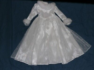 Magic Attic Doll Keisha Snow Queen Dress Holiday Gown Faux Fur Retired 18""