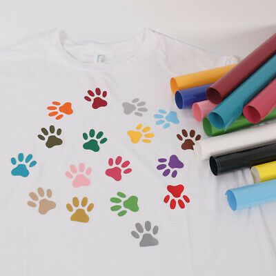 PVC Heat Transfer Vinyl for Heat Press Vinyl T-shirt Cloth Design Iron On 20''