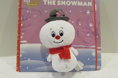 NEW! Hallmark itty bittys bitty Storybook FROSTY THE SNOWMAN BOOK SET CHRISTMAS