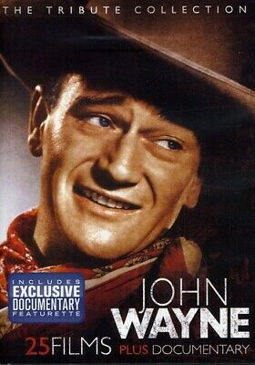 John Wayne: The Tribute Collection DVD 4-Disc Set 25 Films + Documentary New!!!!