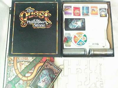The Quest of the Philosopher's Stone Board Game. Complete. Used.