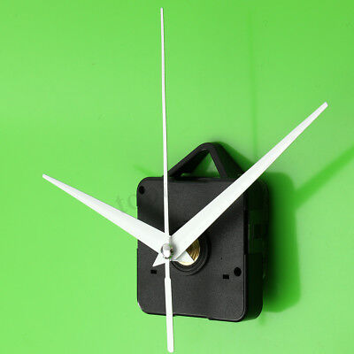 White Triangle Hand DIY Quartz Wall Clock Movement Silent Mechanism Repair KIT