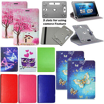 """For Argos Alba 7"""" / 8"""" /10.1"""" inch Tablet Universal PU Leather Stand Cover Case"""