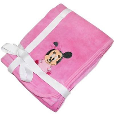 Minnie Mouse Velour Blanket