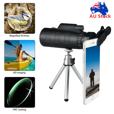 40X60 HD Zoom Optical Telephoto Telescope Camera Lens For iPhone X /8 Plus S8 S7