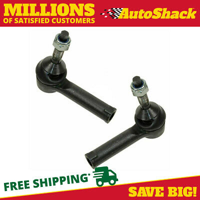Pair of Front Outer Tie Rod Ends RH & LH Fits Ford Lincoln Mercury