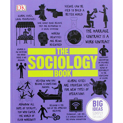 The Sociology Book by Dorling Kindersley (Hardback), Non Fiction Books, New