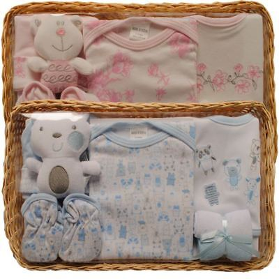Baby Shower Layette Gift, Pink or Blue for Boys or Girls - Kris x Kids