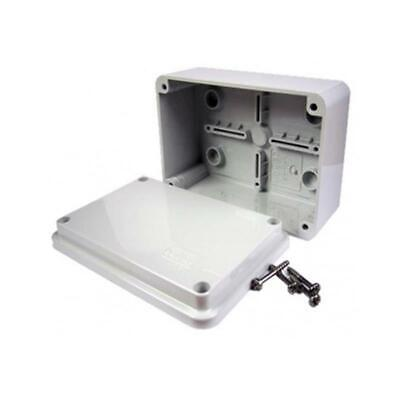 ESR 120mm Rectangular Enclosure Junction Box Adaptable PVC, IP56 Waterproof