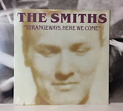 THE SMITHS - STRANGEWAYS HERE WE COME LP CUT NEW SEALED US 1987 1st PRESSING