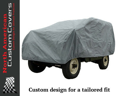 Land Rover Series 1, 2 & 3 Outdoor Car Cover (SWB) - 1948 to 1985 {193}