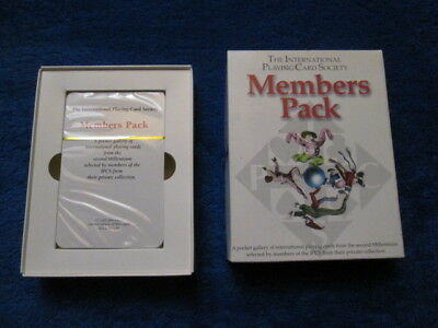 Spielkarten Members Pack The international Playing Card Society OVP Original Box