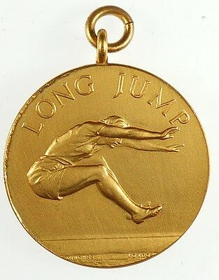 By Pinches gilt-bronze 25mm WOMEN/'S HIGH JUMP Great Britain sports