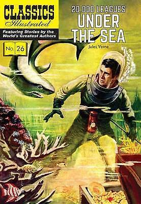 20,000 Leagues Under the Sea (Classics Illustrated), Very Good Condition Book, V