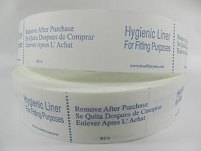Lot of 50 Try-on Swimsuit Protective Hygienic-Hygenic Liner Adhesive Strip