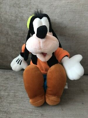 """Disney Store Disney's Goofy Large (14"""") Soft Toy Easter Gift"""