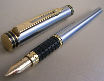 Stylo Waterman Exclusive De Collection Plume Or 18K  Annees 1980
