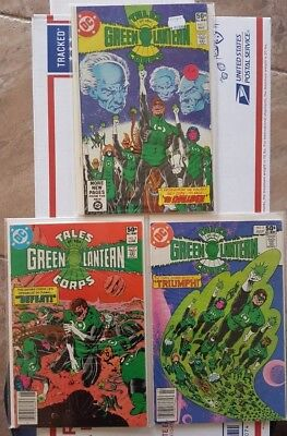 Tales of the Green Lantern Corps (1981) # 1 - 3 Set VF to NM- FREE SHIPPING